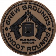 Патч BREW GROUNDS PATCH