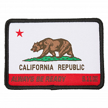 Патч CALIFORNIA STATE BEAR PATCH