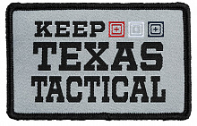 Патч KEEP TEXAS TACTICAL PATCH