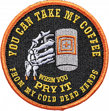 Патч COLD DEAD CAFFEINE PATCH